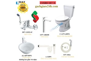combo Thiết bị vệ sinh inax 7