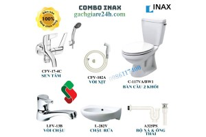 Combo Thiết bị vệ sinh inax 5