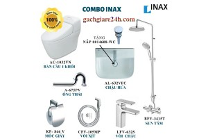 Combo thiết bị vệ sinh inax 1