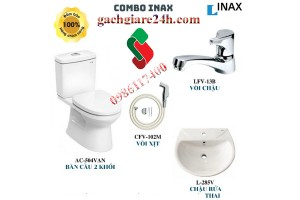 Combo thiết bị vệ sinh inax4