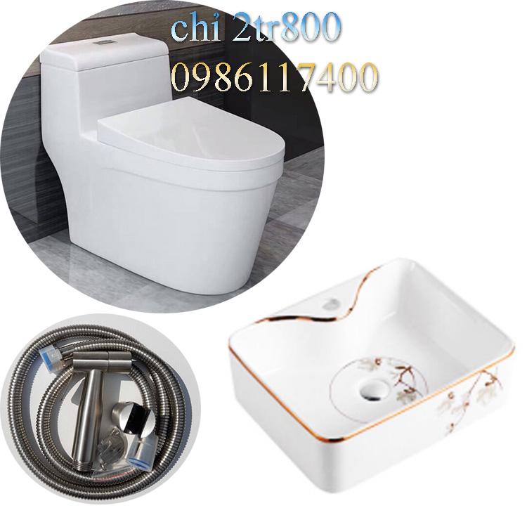 Bộ thiết bị nhà vệ sinh 016