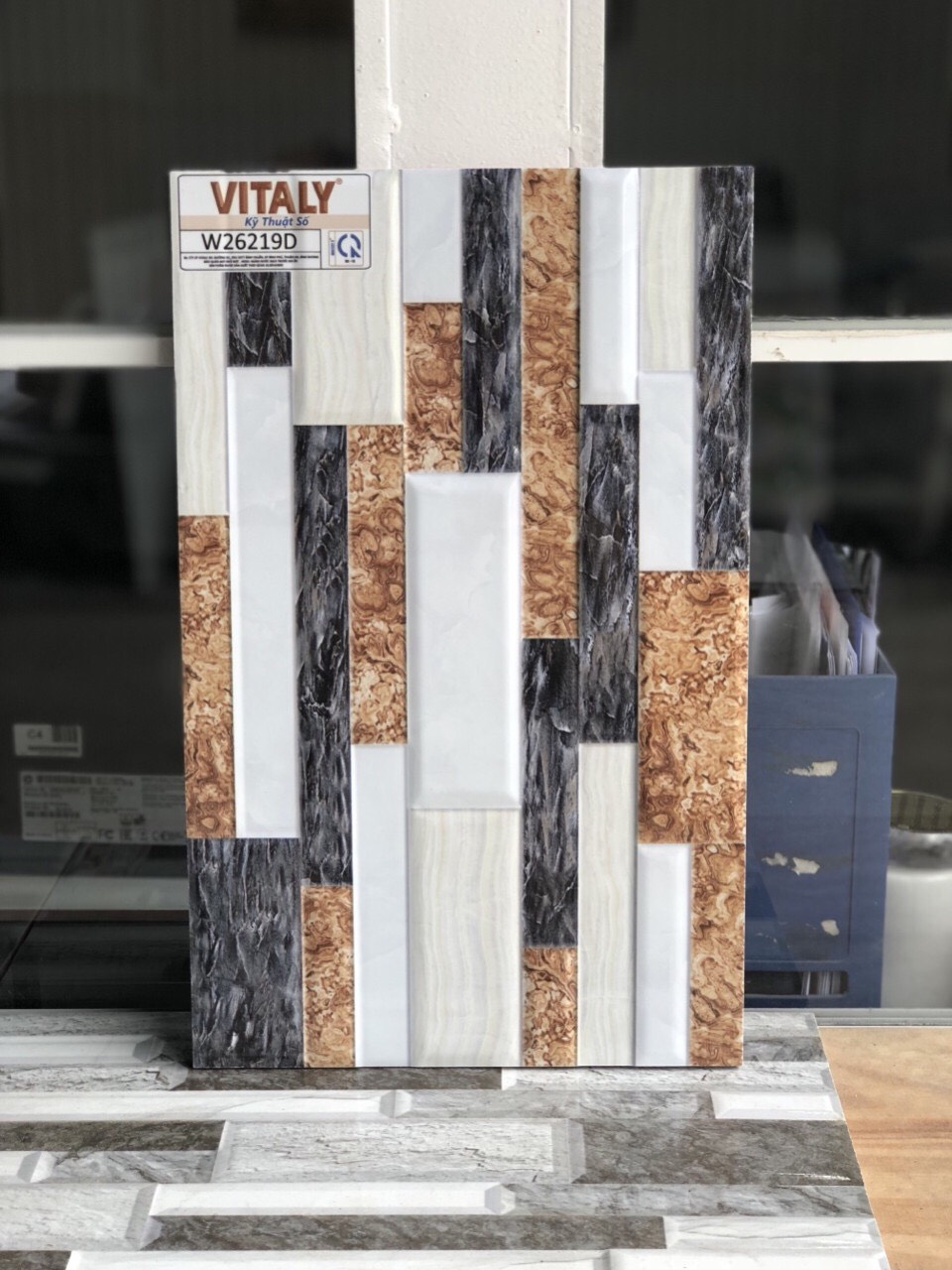 Gạch ốp cột 25x40 vitaly